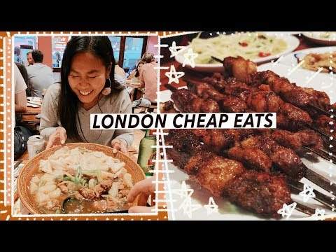 London Cheap Eats: £1 Skewers & Affordable Chinese FEAST | Food Vlog