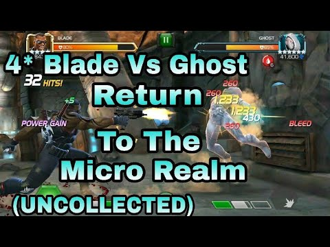 4* blade Vs Ghost - Return to the micro realm uncollected (MCOC)