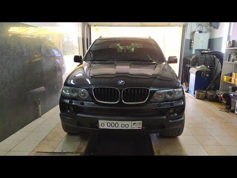 BMW X5 e53 EWS убираем колхоз