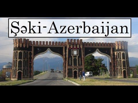 Azerbaijan (by Marshrutka from Lahic to Şəki-Sheki)  Part 21