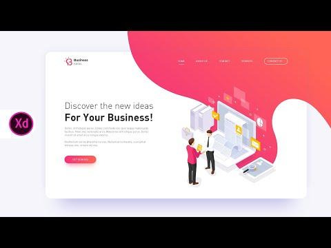 Web Page Design in Adobe XD (2020)