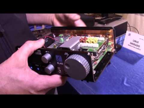 SDR ham radio ELAD HF + 6M transceiver