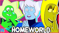 Homeworld Gems & Their Symbolism Explained! (Zircons, Jades, Holly Blue Agate) | Steven Universe