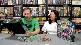 Unboxing of Super Ninja Ambush by Soda Pop Miniatures