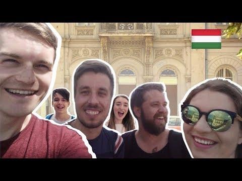 Interviewed by a MAJOR Hungarian News Network 😱 🇭🇺 Budapest Vlog 4 | Két Lotti | 24.HU