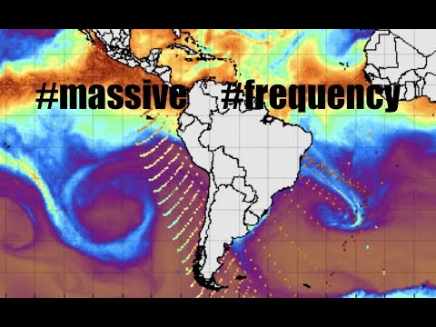 Massive Frequency SOARS from Antarctica spanning 1000's of m