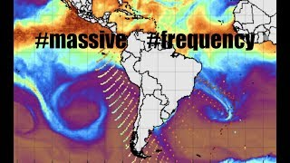 Massive Frequency SOARS from Antarctica spanning 1000's of miles!