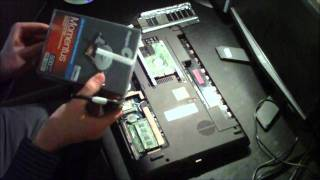 How To Replace the Hard Drive in an Acer Aspire 5742 Series Notebook Laptop