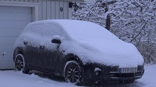 Winter driving with Nissan LEAF