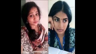 Mersal&3 Dubsmash Tamil girls
