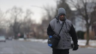 James Robertson Walks 21 Miles Each Way to His Job in Detroit