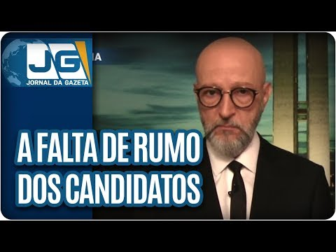 Josias de Souza/A falta de rumo dos candidatos à presidência