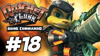 Ratchet and Clank 2: Going Commando Walkthrough Part 18 No Commentary PS3 (60fps Gameplay)