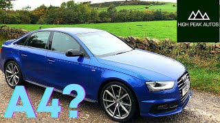 Should You Buy A Used AUDI A4 Black Edition? (Quick Test Drive and Review)
