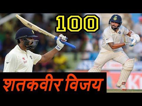 Murli Vijay Shamesh 10th Century At Nagpur || Vijay Hit Excellent Hundred against Lanka in 187 Ball