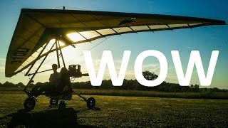 Learning to fly for cheap: the microlight solution