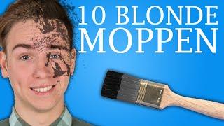 10 BLONDE MOPPEN!