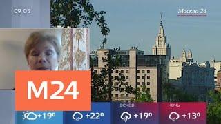 Смотреть видео Какая погода ожидается в столице в День России - Москва 24 онлайн