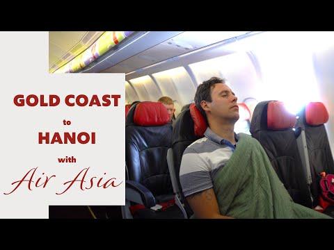 AIR ASIA Flight Gold Coast Australia To Kuala Lumpur Malaysia | FAMILY TRAVEL | Flying With Kids