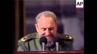 Fidel Castro speech to mark Revolution Day
