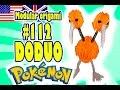 3D MODULAR ORIGAMI #112 DODUO / Pokémon / Pokemon / Pokemon Go