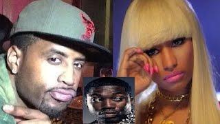 Safaree will NEVER get back with Nicki Minaj again 😢 + Meek Mill