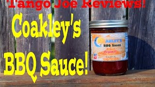 Coakley's Bbq Sauce Review By Tango Joe