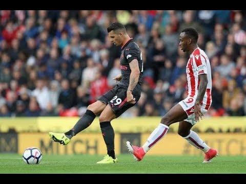 Granit Xhaka Look Away Now!!!   Stoke v Arsenal Player Ratings