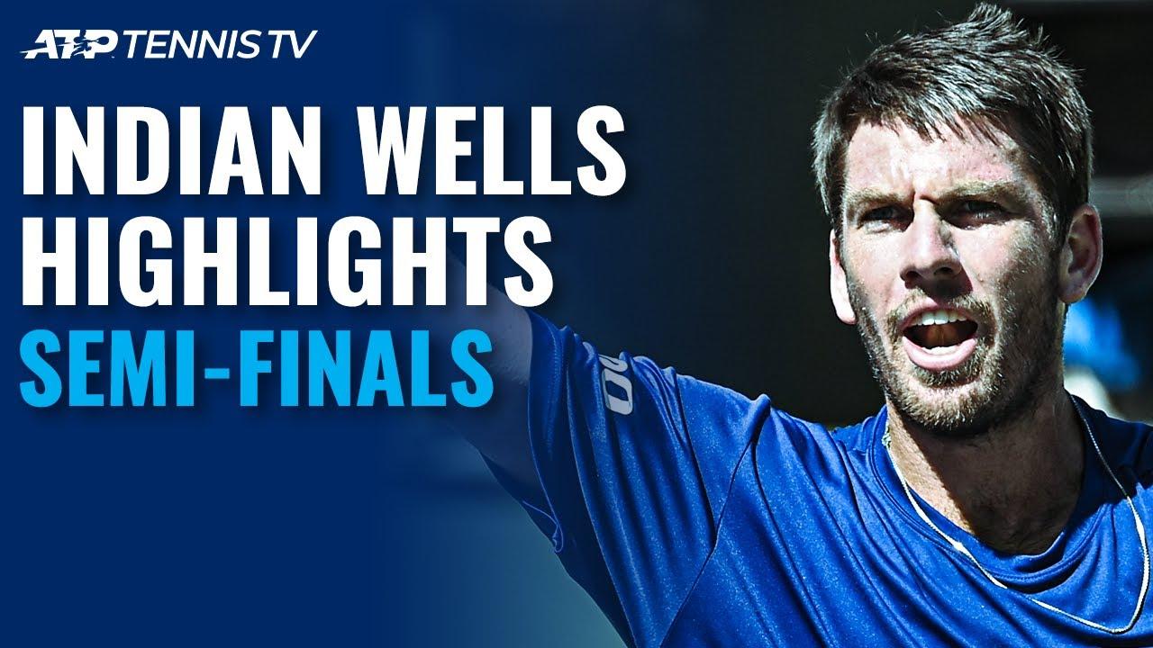 Dimitrov Battles Norrie; Fritz Faces Basilashvili | Indian Wells 2021 Semi-Final Highlights