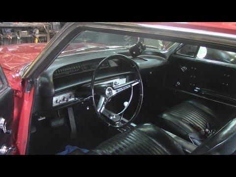 1963 Impala SS - Remove Steering Wheel