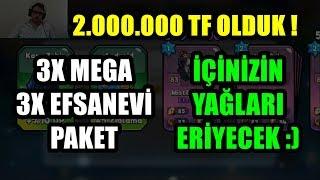 3x MEGA & 3x EFSANEVİ PAKET - 2.000.000 TF OLDUK - KAFA TOPU 2 (HEAD BALL 2)