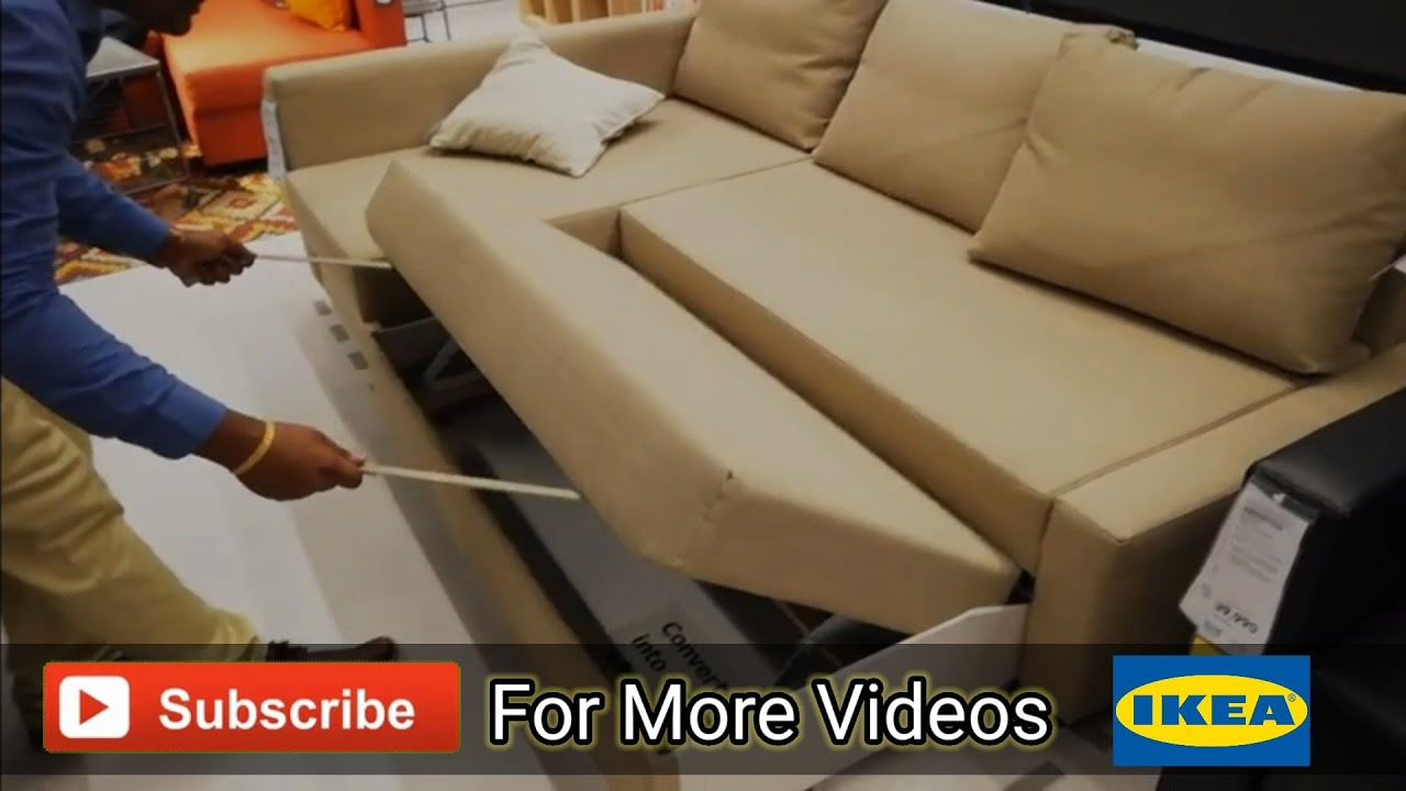 Ikea Hyderabad Sofa Cum Bed Youtube