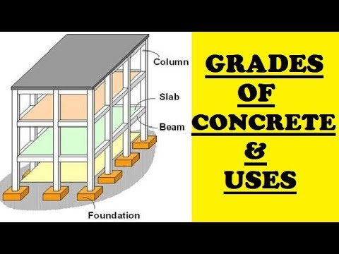 Different Grades of Concrete and their Uses