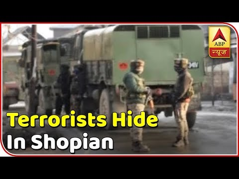 Indian Army Begins Search Operation As Terrorists Hide In Shopian | Super 6 | ABP News