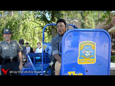 "The Convincer convinces people to drive safely by ""simulating"" a 5 mph car accident"