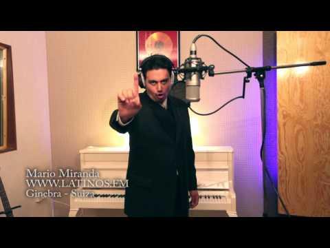 Grabando voces para la radio Latinos FM - Mario Miranda