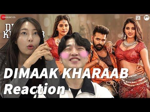 Dimaak Kharaab  Full Video Song Reaction By Koreans   ISmart Shankar   Ram Pothineni
