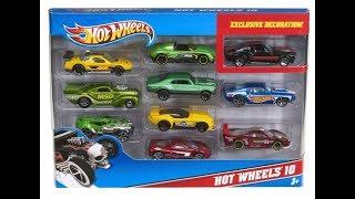 Hot Wheels and Kinder -обзор игрушек киндер и модельки)