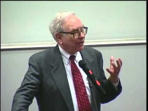 Warren Buffett speaks to UGA students