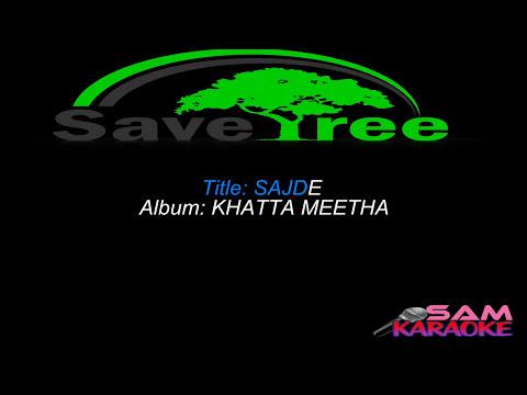 Sajde Kiye Hain _Karaoke Sam Karaoke