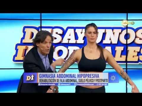 Piti Pinsach en TV de Montevideo con Low Pressure Fitness