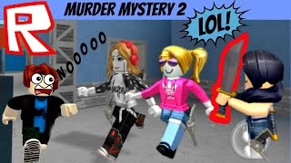 "Roblox Murder Mystery 2, ""Diary of Two Wimpy Sisters!"" Lily & Gia Play Roblox, PTRC"