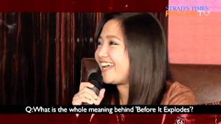 Charice on RAZORTV - Part 2, 'Before It Explodes'