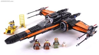 LEGO Star Wars Poe's X-Wing Fighter review! 75102