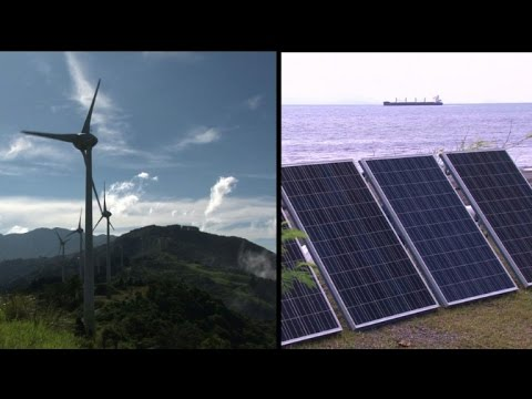 Costa Rica boasts clean energy -- and bad car pollution