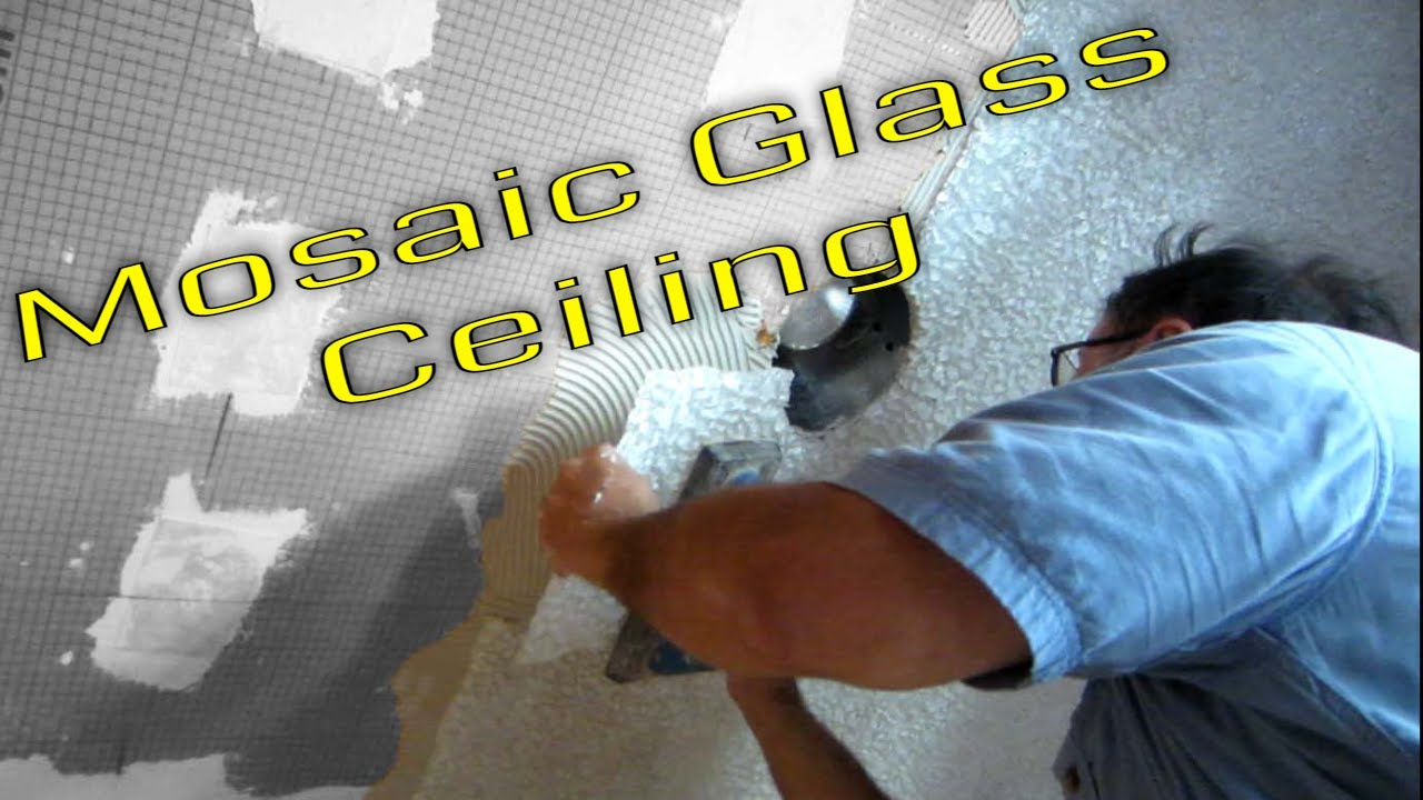 Steam Shower Part 1 Glass Tile Ceiling Schluter Systems