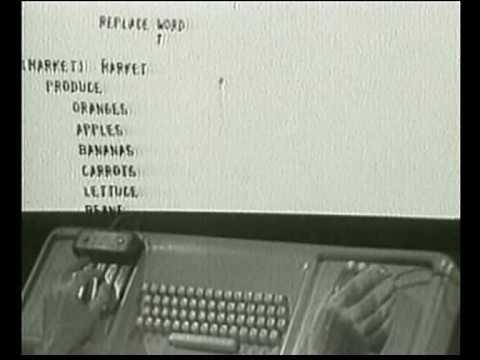 Douglas Engelbart - inventeur GUI - Souris - Hypertexte - reseau