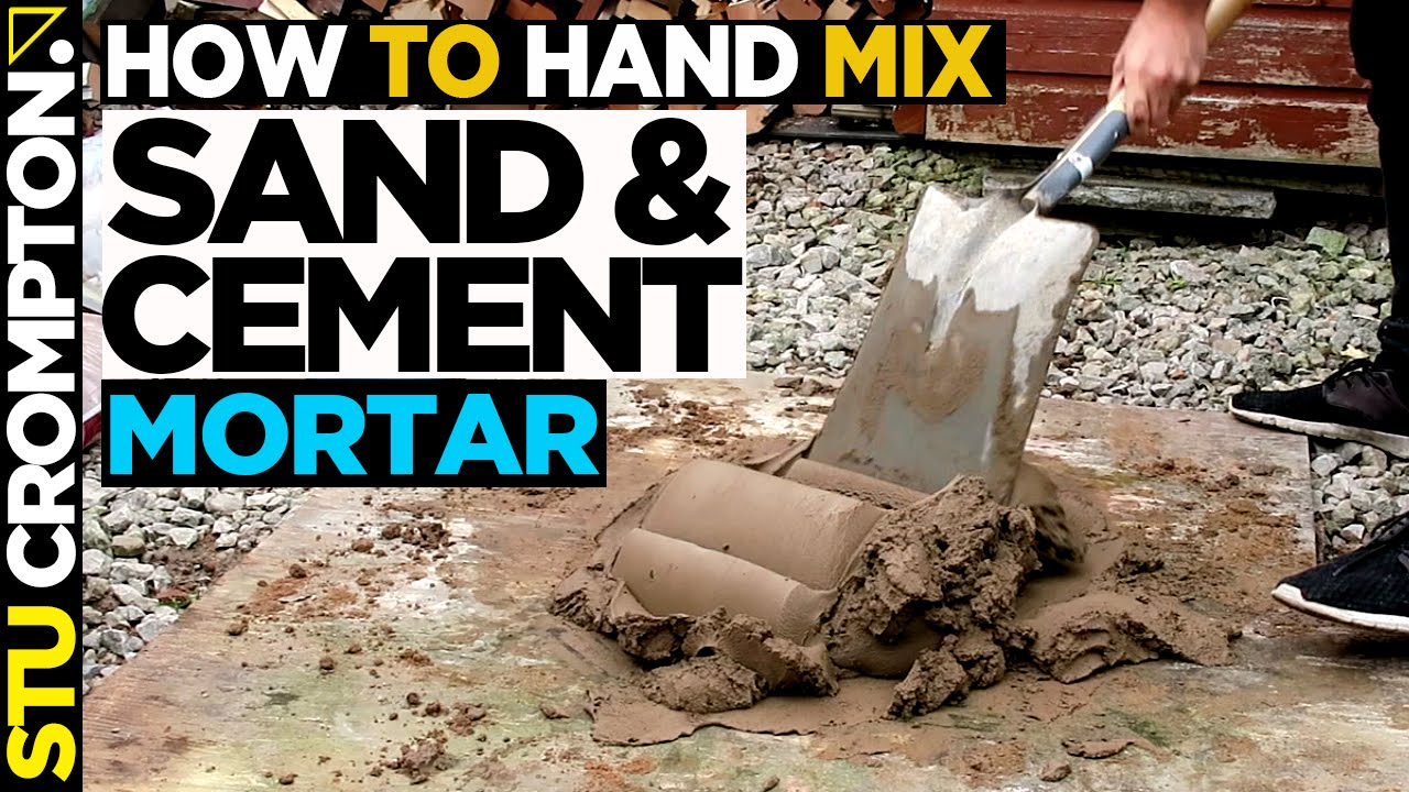 How To Mix Sand And Cement For Bricklaying Step By