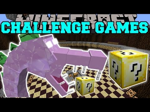 Minecraft: SPIKEZILLA CHALLENGE GAMES - Lucky Block Mod - Mo