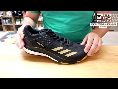 Review Handballschuhe 2017/18: adidas Crazyflight Bounce - YouTube